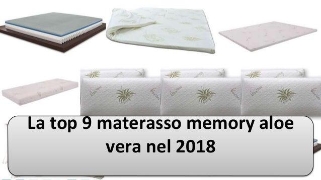 La top 9 materasso memory aloe vera nel 2018