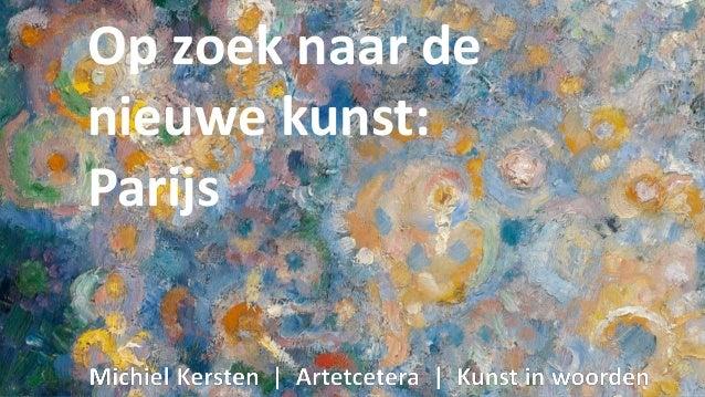 JanSluijters,LeBalTabarin(voorstudie),1906,olieverfopdoek, Laren,SingerMuseum Op zoek naar de nieuwe kunst: Parijs