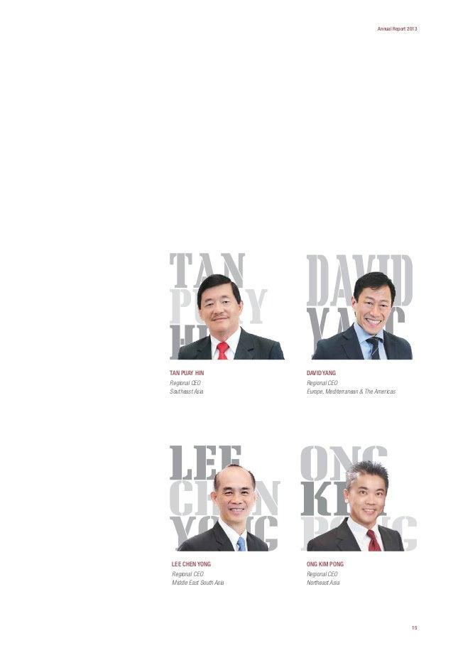 PSA Internacional PTE LTD ANUAL REPORTE 2013