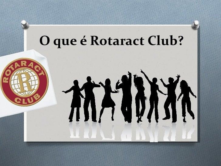 O que é Rotaract Club?