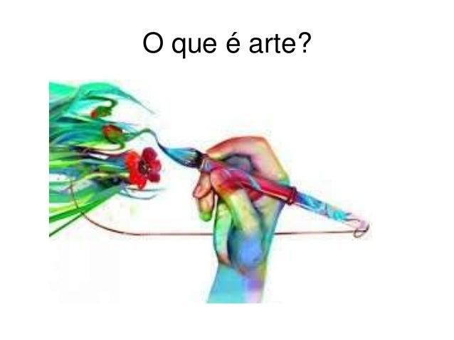 O que é arte?