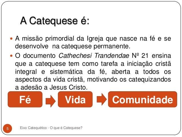 Os Mandamentos Na Vida Cristã: O Que é Catequese