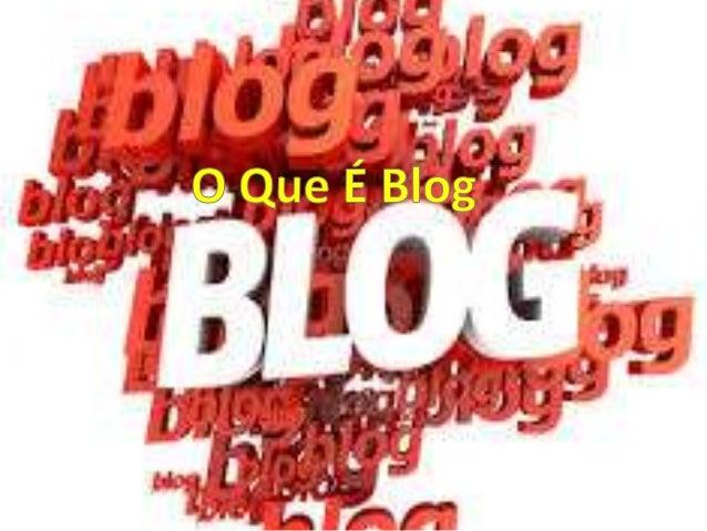 """Um blog ou blogue(contração do  termo inglês web log, """"diário da rede"""")  é um site cuja estrutura permite a  atualização r..."""