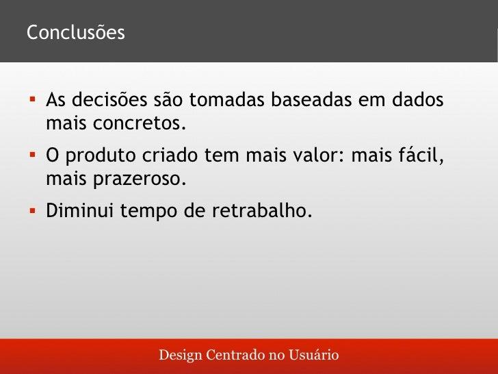 O que é design centrado no usuário