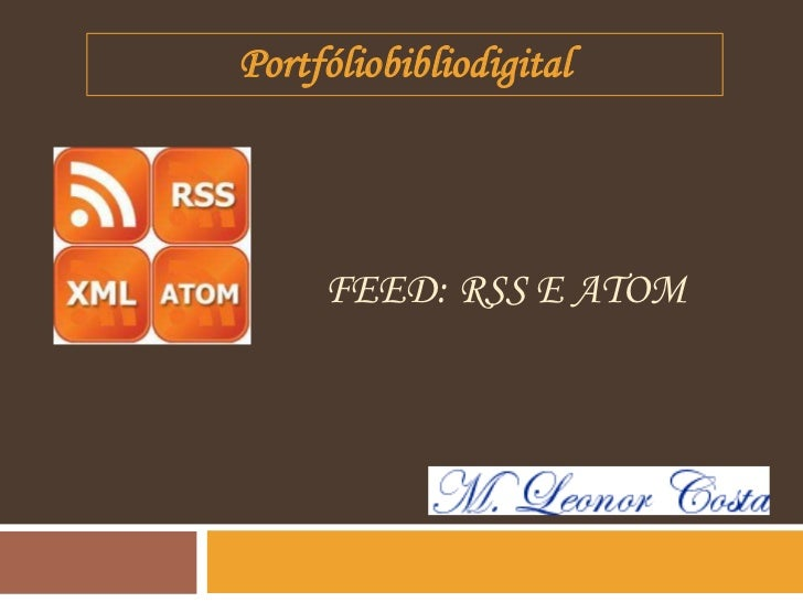 Portfóliobibliodigital     FEED: RSS E ATOM
