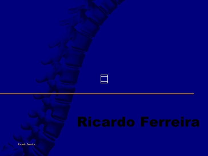 Ricardo Ferreira Ricardo Ferreira