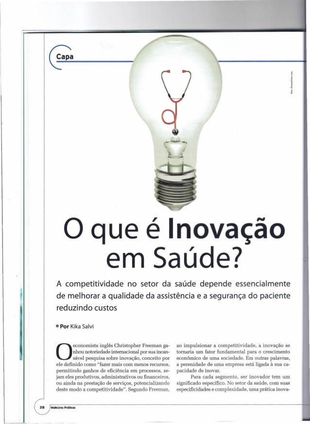 ~-----~.                o que é Inovação                                   em Saúde?            A competitividade         ...