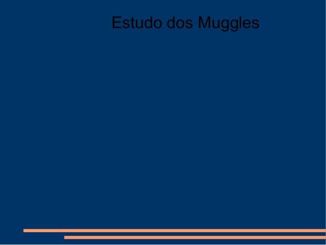 Estudo dos Muggles