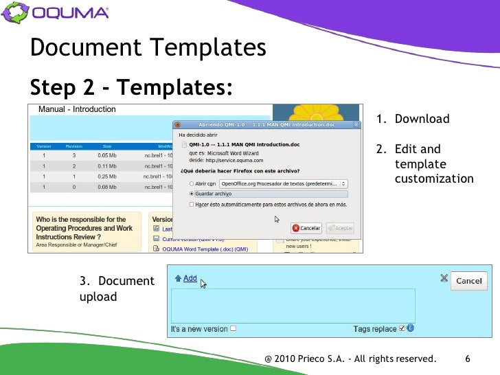 5 Steps to your Quality Manual – Quality Manual Template