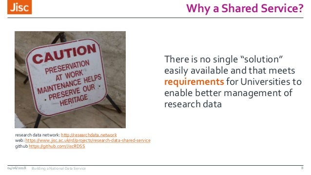 """Why a Shared Service? There is no single """"solution"""" easily available and that meets requirements for Universities to enabl..."""