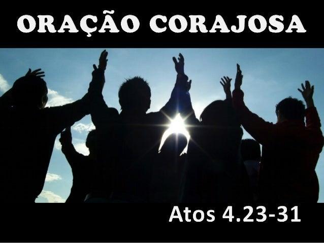 23 Quando foram soltos, Pedro e João voltaram para os seus companheiros e contaram tudo o que os chefes dos sacerdotes e o...