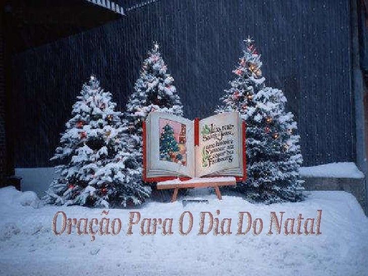 Oração Para O Dia Do Natal