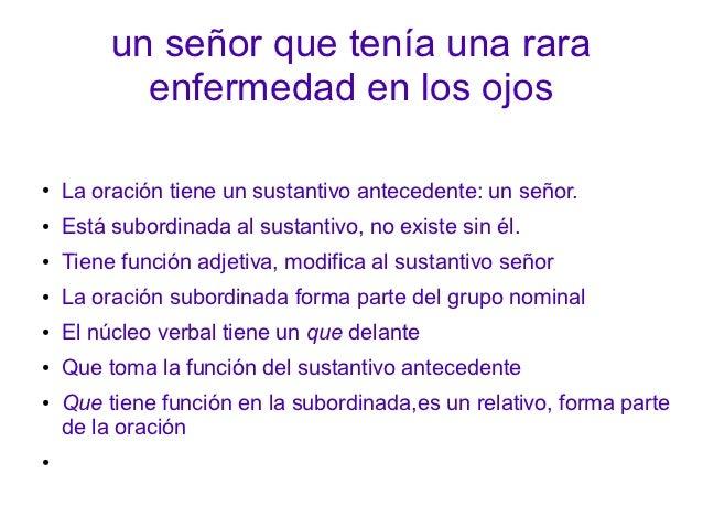 Oración subordinada Slide 3