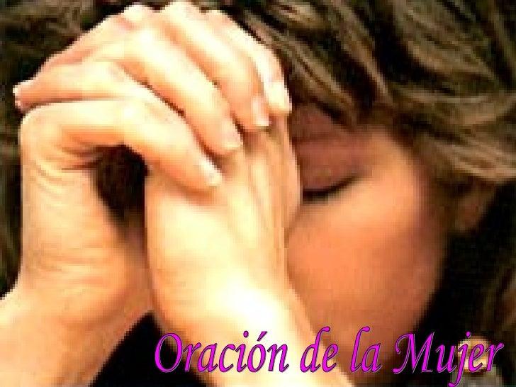 Oración de la Mujer