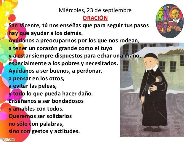 Oraciones a san vicente de pa l - Pasos a seguir para echar a tu hijo de casa ...