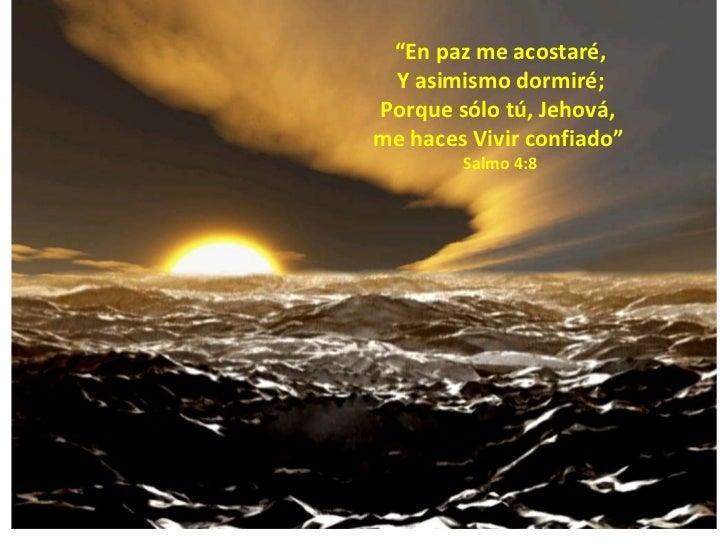 Oraciones espirituales textos b blicos para nuestro for En paz me acostare