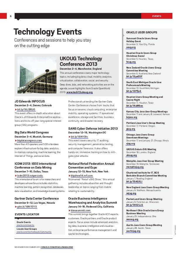 Oracle Magazine Noviembre-Diciembre 2013