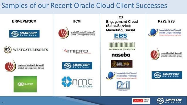 Oracle_SmartERP - SCM RoundTable, What's Keeping You Up at Night