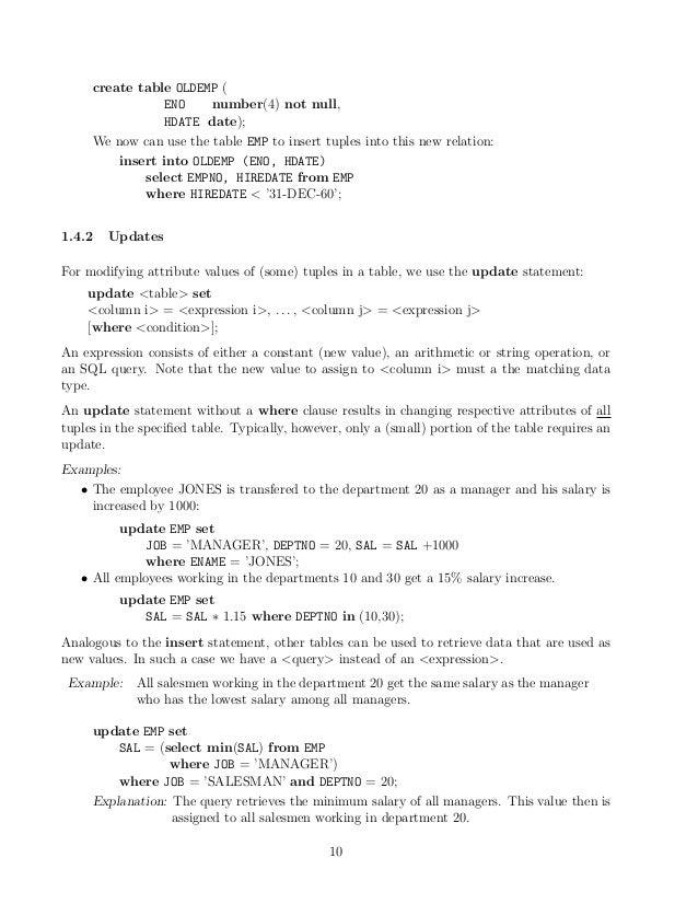 ... 12. create table ...  sc 1 st  SlideShare & Oracle sql tutorial