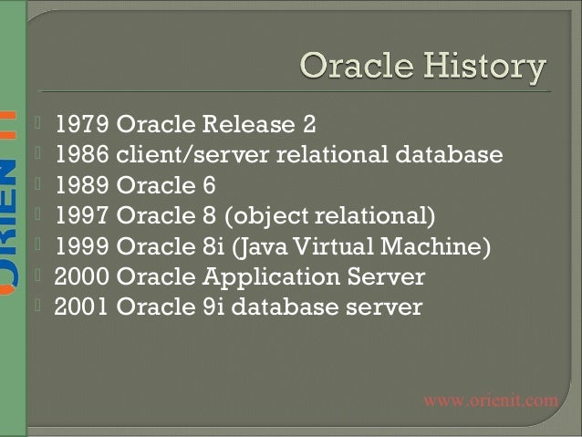 Oracle training-in-hyderabad Slide 2