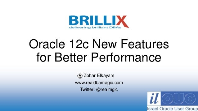 oracle 12c new features - Hizir kaptanband co