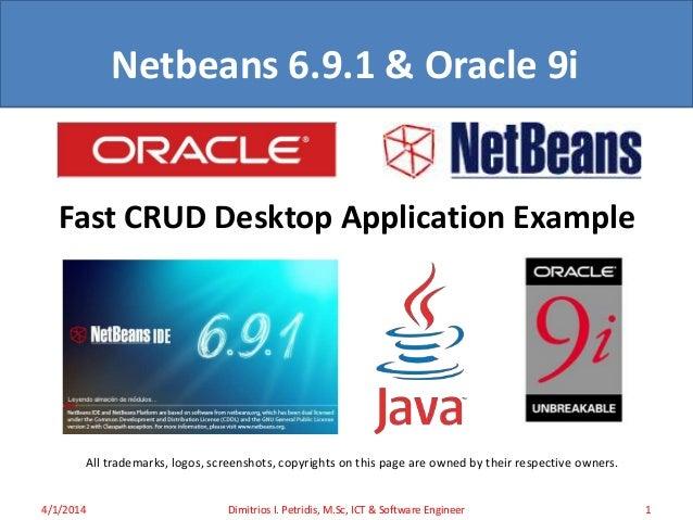 Oracle 9i & Netbeans 6 9 1