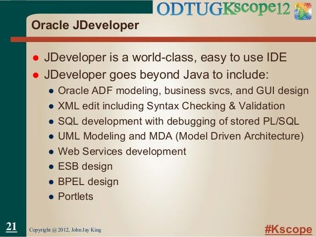 Oracle adfj developer slides