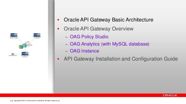 Oracle api gateway overview Slide 2