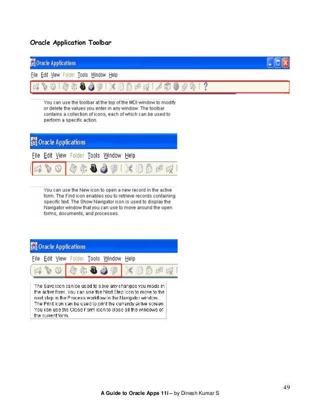 Oracle apps 11i tutorial(v2)
