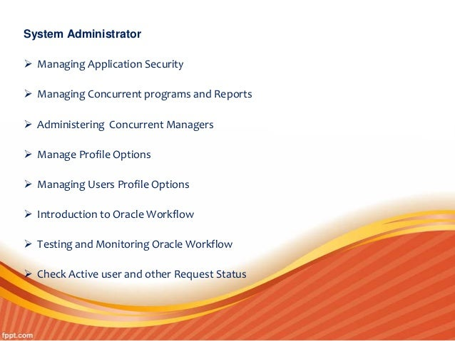 Oracle Apps Dba Online Training In Hyderabad Apps Dba