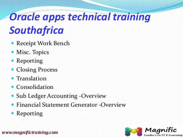 oracle apps financial online training newzealand