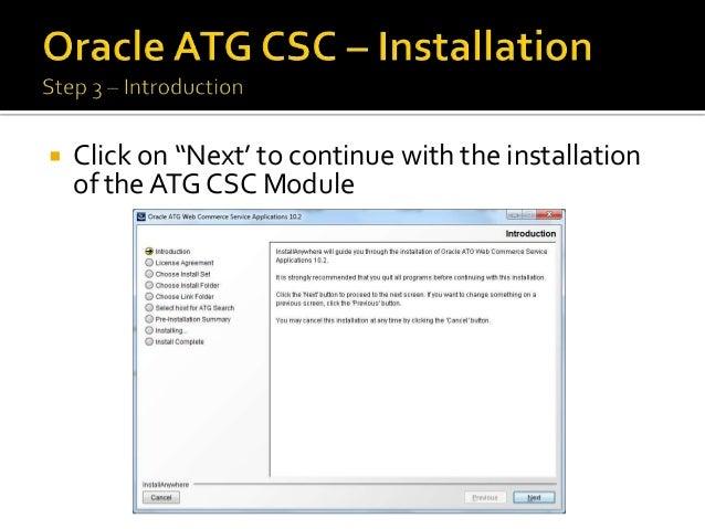 CSRConfigurator (ATG CSC API) - docs.oracle.com