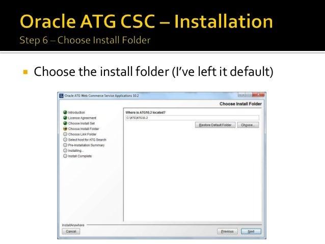 SearchFormHandler (ATG CSC API)