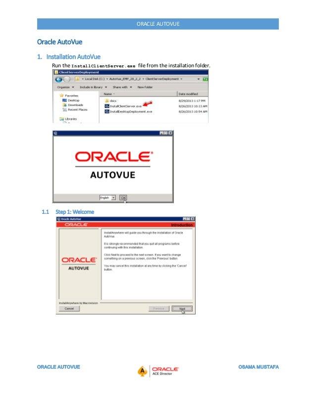 Oracle autovue Slide 3