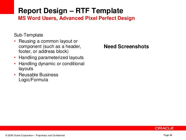 Conditional Count In Rtf Template