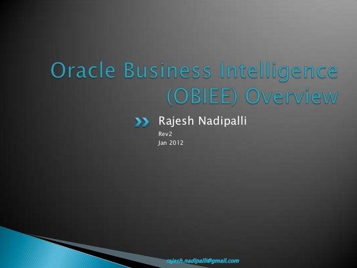 Rajesh NadipalliRev2Jan 2012  rajesh.nadipalli@gmail.com