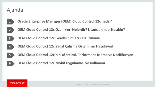 Oracle Enterprise Manager Cloud Control 12c Slide 2