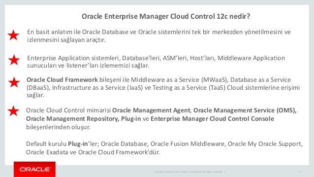 Oracle Enterprise Manager Cloud Control 12c Slide 3
