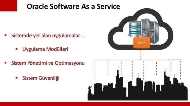 Oracle Cloud As Services