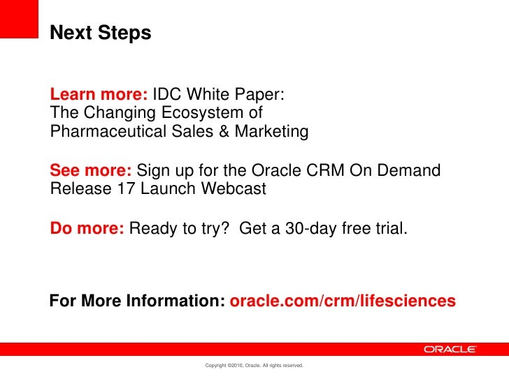 oracle crm on demand release 17 life sciences edition. Black Bedroom Furniture Sets. Home Design Ideas