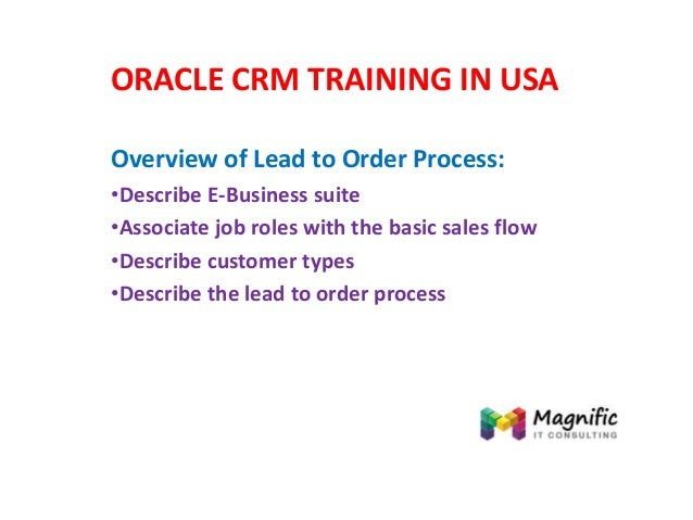 oracle crm training in usa. Black Bedroom Furniture Sets. Home Design Ideas