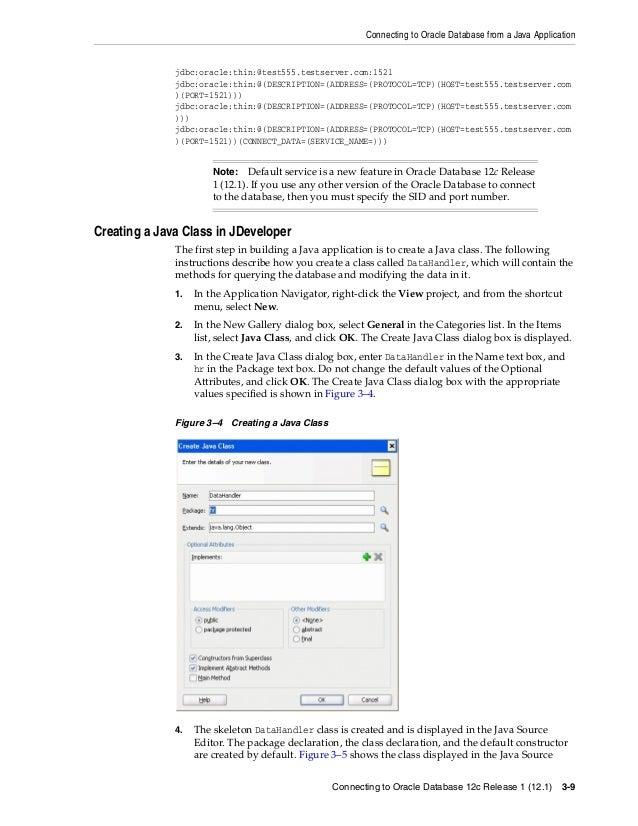 oracle database 12c 2 day java developer s guide rh slideshare net