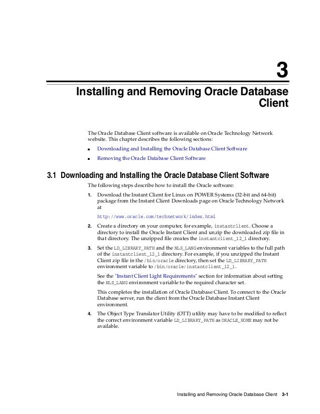 Oracle database 12c client installation guide 4