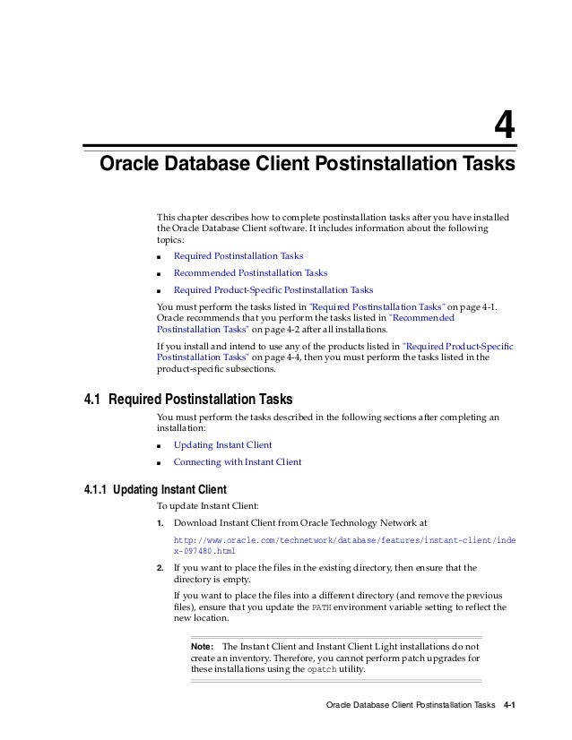 Oracle database 12c client installation guide 5