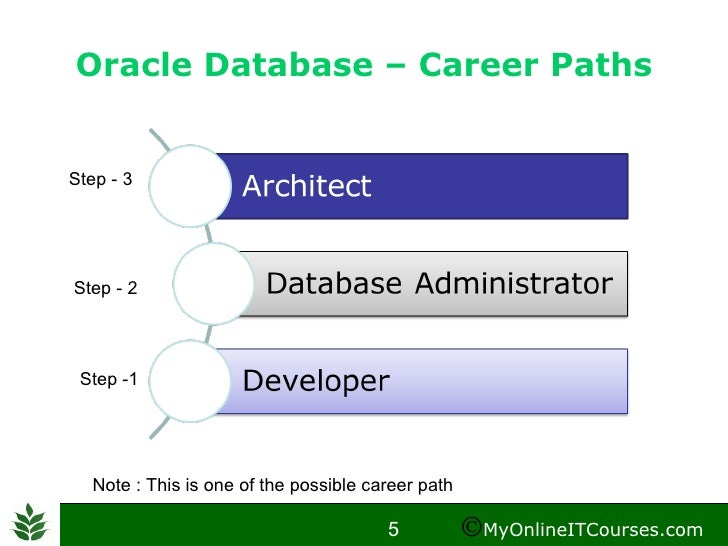 an introduction to the career of a database developer Database administrators are often certified for a specific database platform, such as mysql database administrator, oracle dba and microsoft certified database administrator job satisfaction.
