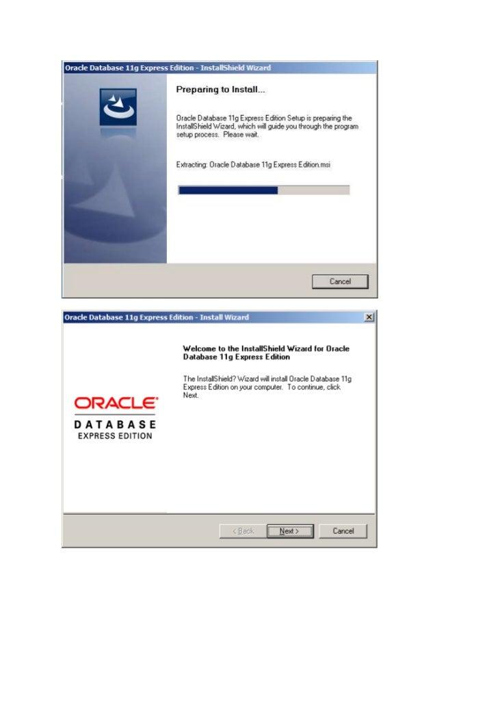 เริ่มต้น Oracle database ด้วย XE (draft)