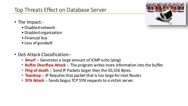 Oracle database threats - LAOUC Webinar