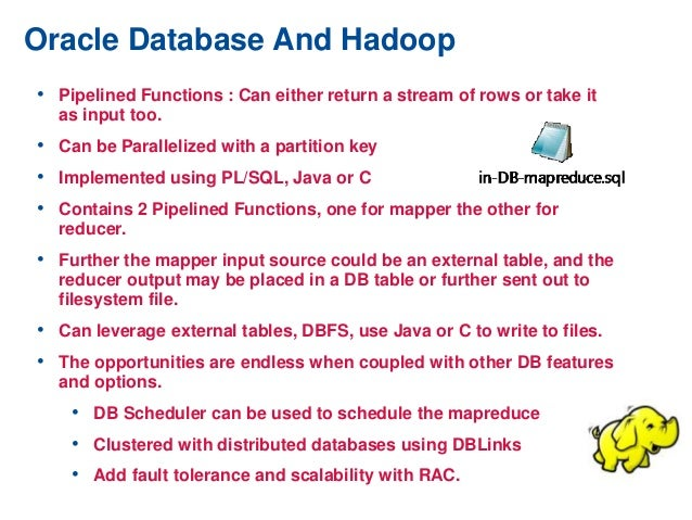 Oracle Database 12c - Features for Big Data