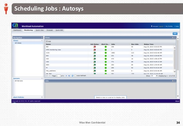AUTOSYS SCHEDULING TOOL PDF