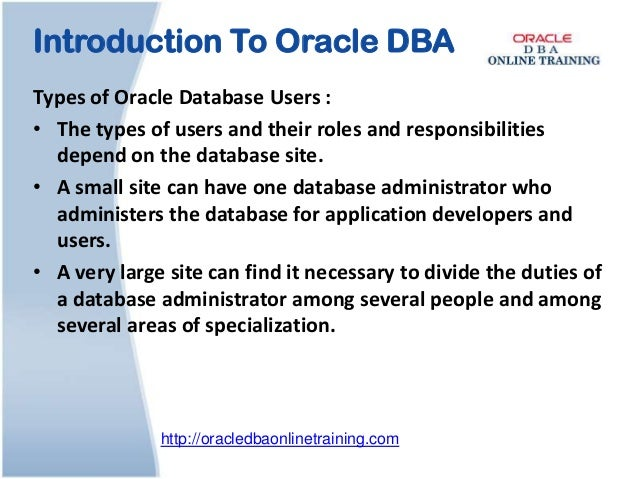 Oracle dba online training | Oracle DBA Online Course and Certificati…